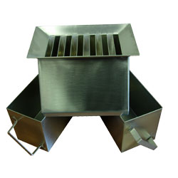 AG021 Stainless Steel Riffle Box